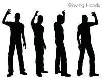 Free EPS 10 Illustration Of A Man In Waving Hands Pose On White Background Royalty Free Stock Photography - 78932867