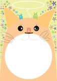 友好的猫eps 免版税库存图片