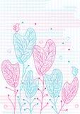 валы влюбленности eps птиц Стоковая Фотография RF