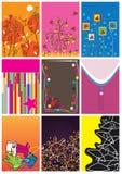 бирки размера eps ткани Стоковая Фотография