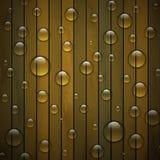木纹理绿色背景。传染媒介eps10 免版税库存图片