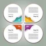 Διανυσματικό υπόβαθρο προόδου Επιλογή ή έκδοση προϊόντων 10 eps Στοκ φωτογραφία με δικαίωμα ελεύθερης χρήσης