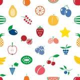 果子题材颜色简单的象无缝的现代样式eps10 库存图片