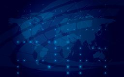 Eps 10 - abstract shiny blue background vector illustration