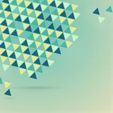 Eps10  background design.Abstract colorful triangles vector   Royalty Free Stock Photo