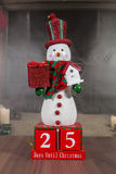 +EPS Bord van Kerstmis van Til tel van de Dagen het ' Royalty-vrije Stock Foto