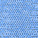 EPS10 De symmetrie van kristallen op een blauwe achtergrond Vector illustratie De achtergrond Royalty-vrije Stock Afbeelding