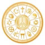 +EPS de Vrede van de wereld, Vele Faiths, Royalty-vrije Stock Fotografie