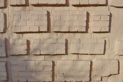 Eps 10 dekorativa beståndsdelar för murverk av 1en Fotografering för Bildbyråer