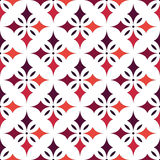 EPS10 file. Seamless floral geometric pattern. Vintage backgroun Stock Photography