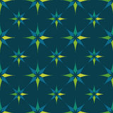 EPS10 file. Seamless floral geometric pattern. Vintage backgroun Stock Photos