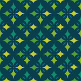 EPS10 file. Seamless floral geometric pattern. Vintage backgroun Royalty Free Stock Photography