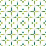 EPS10 file. Seamless floral geometric pattern. Vintage backgroun Stock Photo