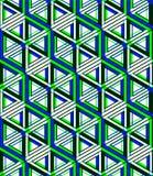 EPS10 fondo sin fin abstracto contemporáneo, three-dimensiona Imagen de archivo