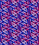 EPS10 fondo sin fin abstracto contemporáneo, three-dimensiona Imágenes de archivo libres de regalías