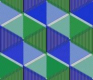 EPS10 fondo sin fin abstracto contemporáneo, three-dimensiona Fotos de archivo
