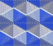 EPS10 fondo sin fin abstracto contemporáneo, three-dimensiona Imagenes de archivo