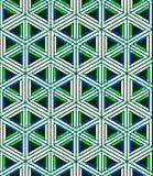 EPS10 fondo sin fin abstracto contemporáneo, three-dimensiona Imagen de archivo libre de regalías