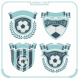 eps-fotboll formaterar jpglogo Fotografering för Bildbyråer