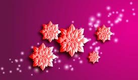 Eps 10 Fundo da mola para o projeto das flores Ilustração do vetor Fotografia de Stock Royalty Free