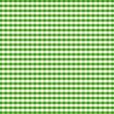 +EPS Gingham, grün stock abbildung