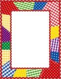 +EPS het Frame van het lapwerk, Brights Royalty-vrije Stock Afbeelding