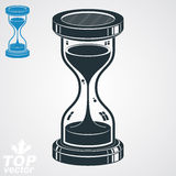 Eps8 high quality three-dimensional vector sand-glass illustration Stock Images