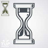 Eps8 highly detailed vector sand-glass illustration, includes ad Royalty Free Stock Photography