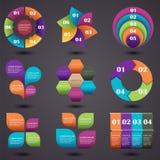 eps-infographics för 10 element Royaltyfria Foton