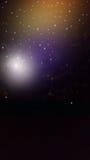 eps jpg αστέρια φεγγαριών Στοκ Εικόνα