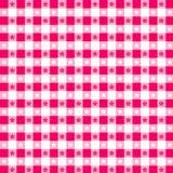 EPS+JPG, rosafarbene Tischdecke Stockfotografie