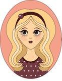 eps kartoteki dziewczyna zawierać wektor fotografia royalty free