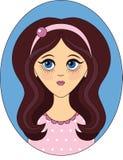 eps kartoteki dziewczyna zawierać wektor zdjęcia stock