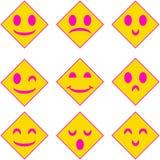 8 eps kartoteki kierowa ikona zawierać Obrazy Royalty Free