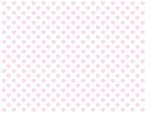 +EPS Naadloze Achtergrond van de Harten van de baby de Roze vector illustratie