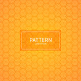 EPS 10 Orange bokeh abstract light background - Vector illustration Stock Photo