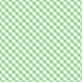 +EPS Pastellgingham-Kreuz-Webart-lt Green Seamless Lizenzfreie Stockbilder