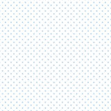 +EPS Polkadots, Blauw op Witte Achtergrond royalty-vrije illustratie