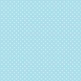 +EPS Polkadots, Blauwe Achtergrond Aqua Royalty-vrije Stock Foto's