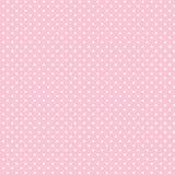 +EPS Polkadots, priorità bassa di colore rosa di bambino illustrazione vettoriale