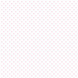 +EPS Polkadots, rose sur le fond blanc Photos stock