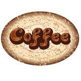 EPS 10 sparar För kafeteria- eller kaffemenylogo stock illustrationer