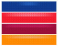EPS Vector 10 - Horizontal web banner Stock Photo