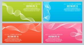 EPS 10 vector illustration. Abstract background with geometric design elements. Vector design style Business card. Letterhead, brochure, banner Stock Image