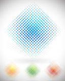 Eps 10 vector illustration of Shattered squares colorful design Royalty Free Stock Images
