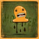 EPS10 vector vintage grunge old card. Monster Stock Images
