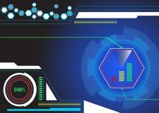 EPS10 vectortechnologie Royalty-vrije Stock Afbeelding