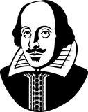 eps William Shakespeare ilustracji
