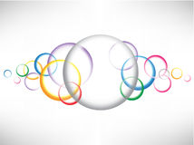 Eps10 circles background3 Royalty Free Stock Image