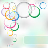 Eps10 circles background5 Royalty Free Stock Image